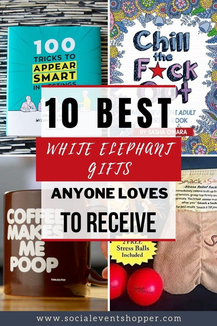 The 10 Best White Elephant Gifts Pinterest