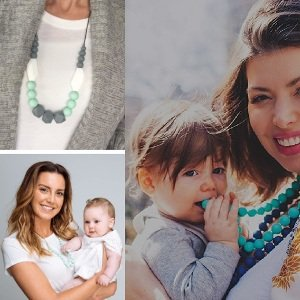 Baby Teething Necklace for Mom