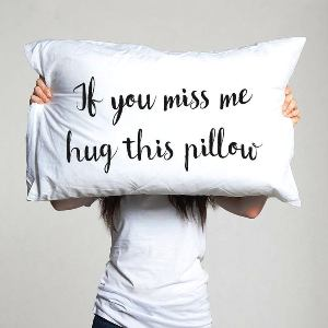 Long Distance Pillowcase