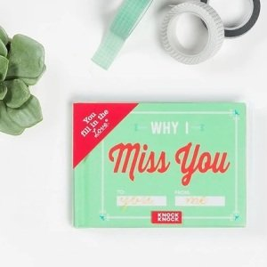 Why I Miss You Fill-in-the-Blank Book
