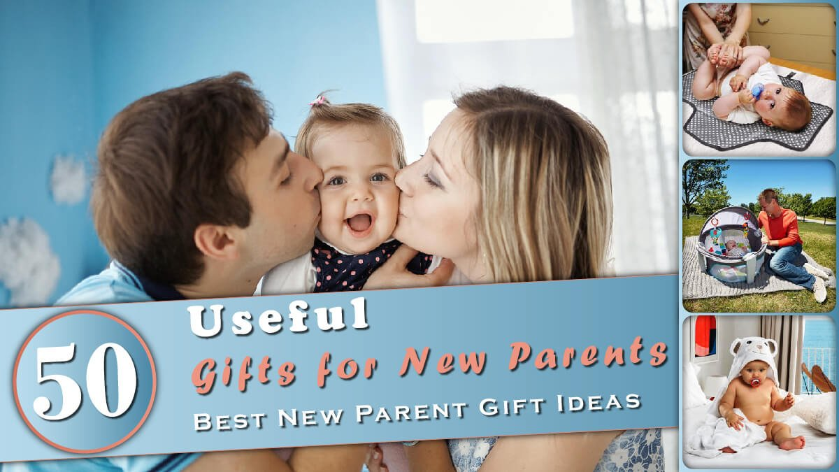 50 Useful Gifts for New Parents Banner