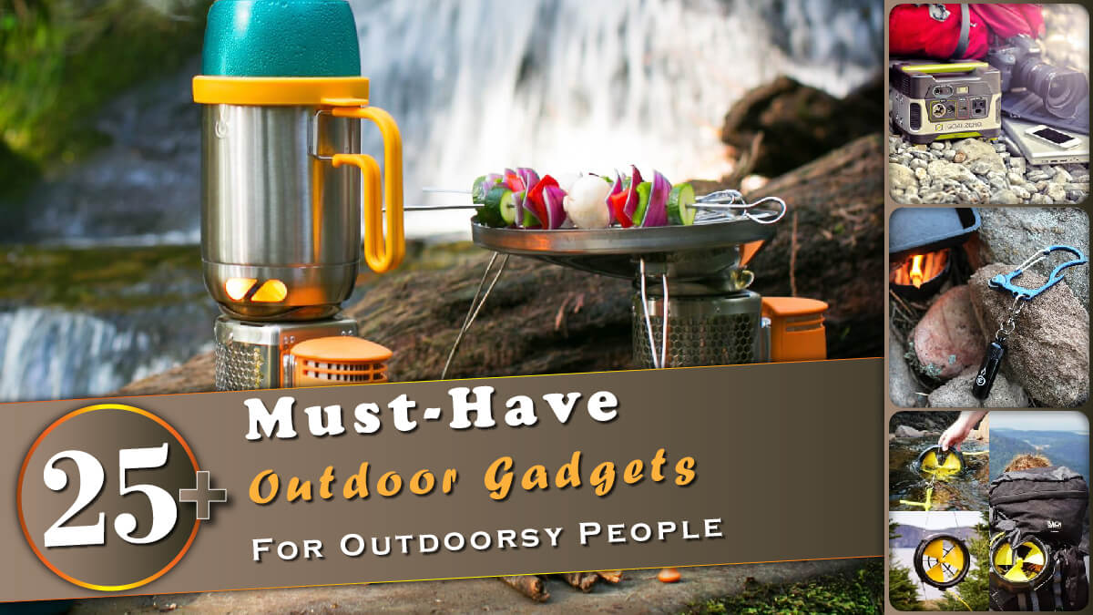 25+ Must-Have Outdoor Gadgets Banner