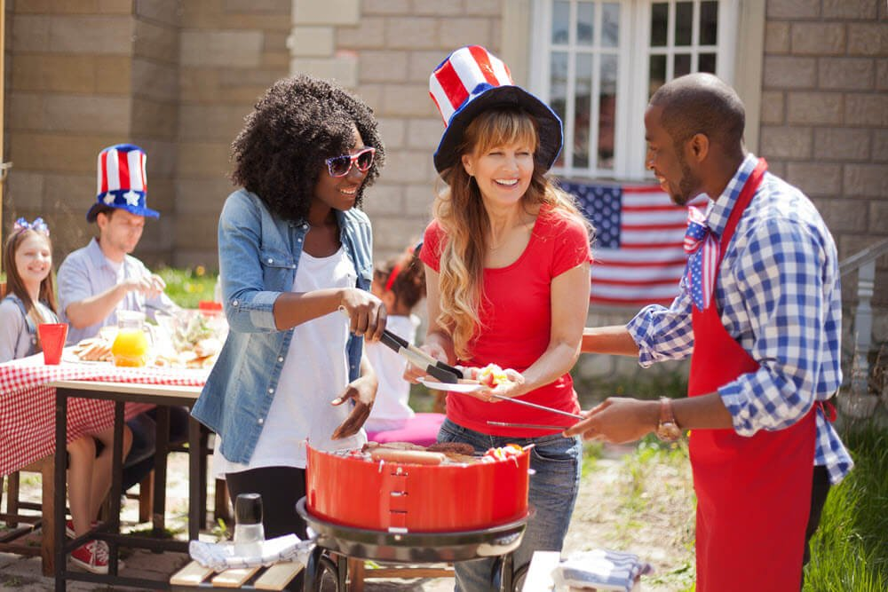 4th of july independence day barbecue