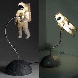 Floating in Space Astronaut Desk Lamp