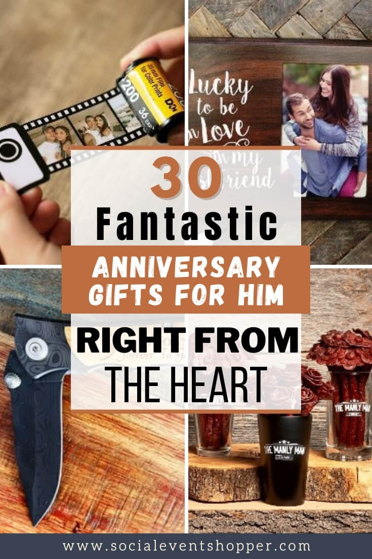 Anniversary Gifts for Him Pinterest