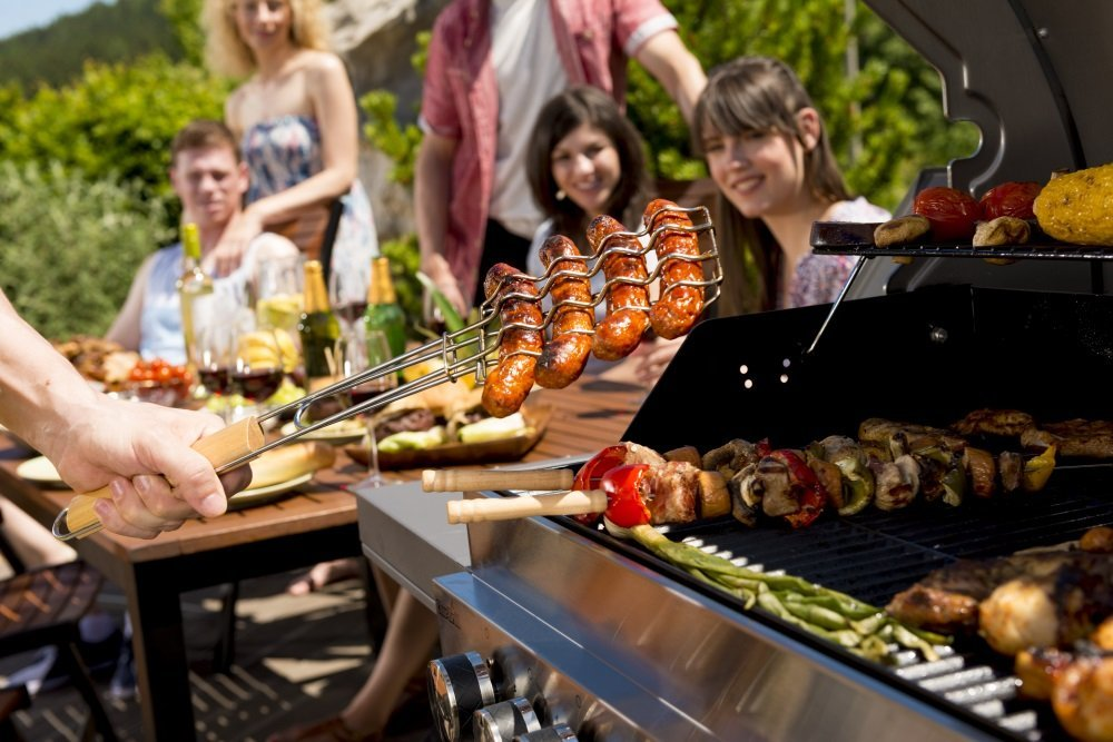 Barbecue Grill Party