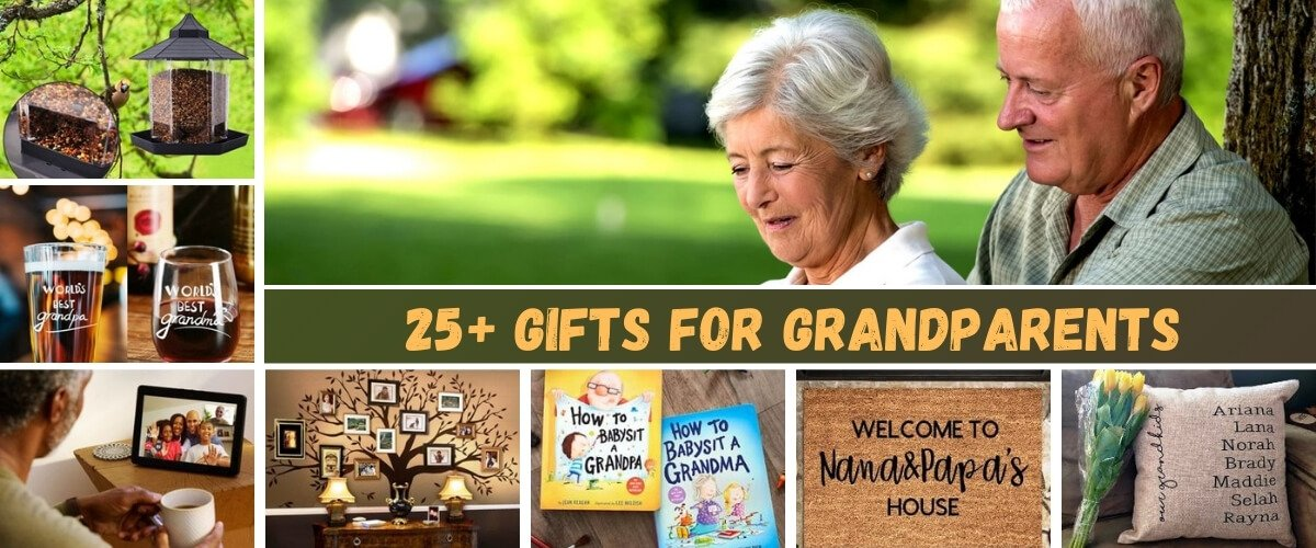 Gifts for Grandparents Banner