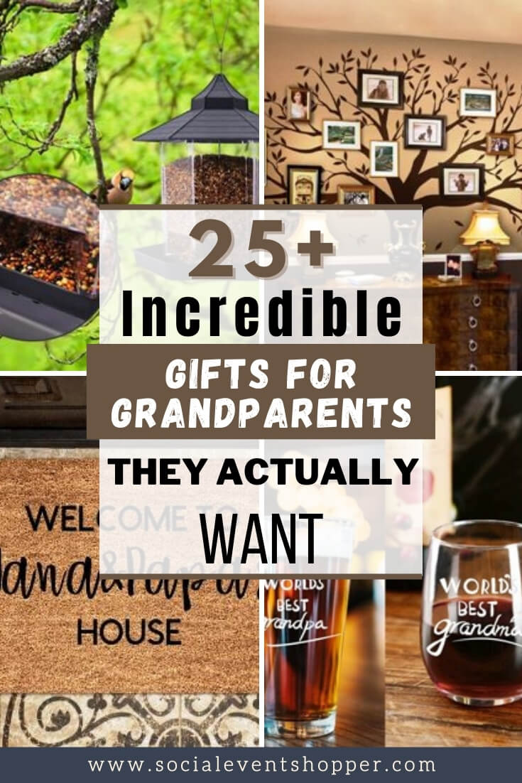 Gifts for Grandparents Pinterest